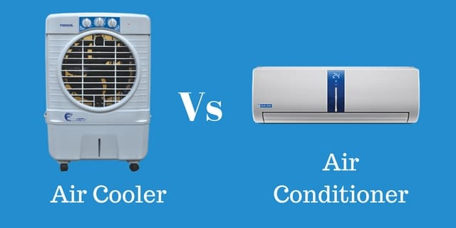 Air Cooler Vs Air Conditioner : Air cooler vs conditioner