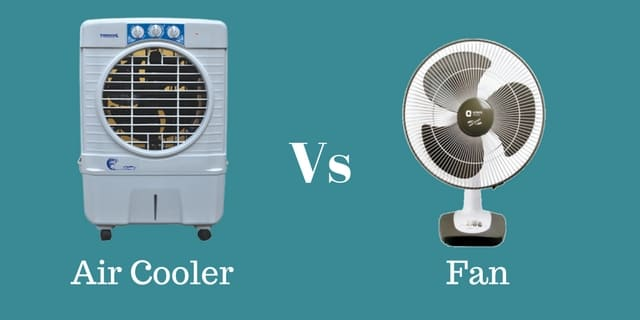 Air cooler Vs Fan, Air cooler vs Tower Fan