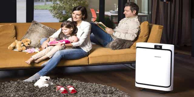 Air purifier for living room and large room