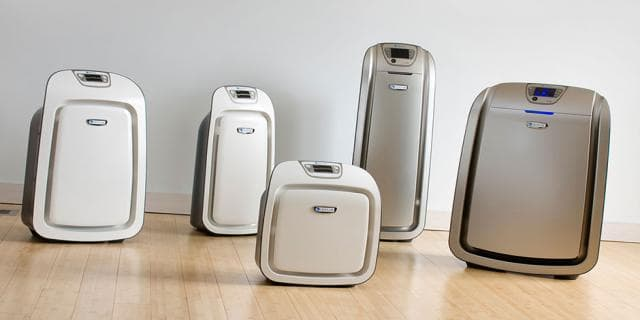 Air purifier size