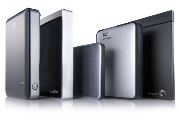 How to select an external hard drive in India