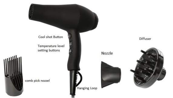 hair dryer accessories
