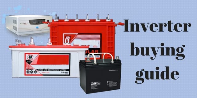 How to calculate inverter & battery backup time? | mukesh.