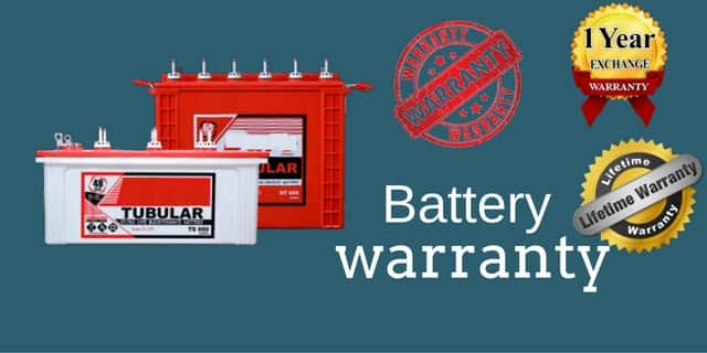 inverter battery warranty