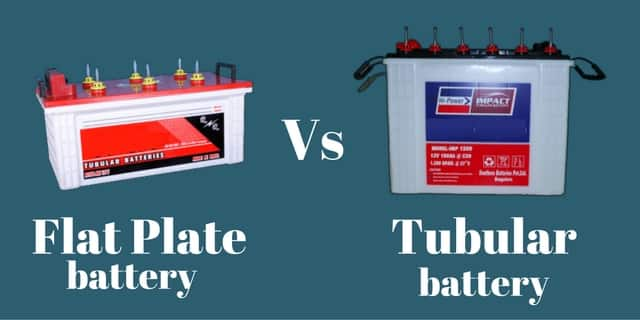 Tubular battery vs lead acid battery or tubular battery vs flat battery