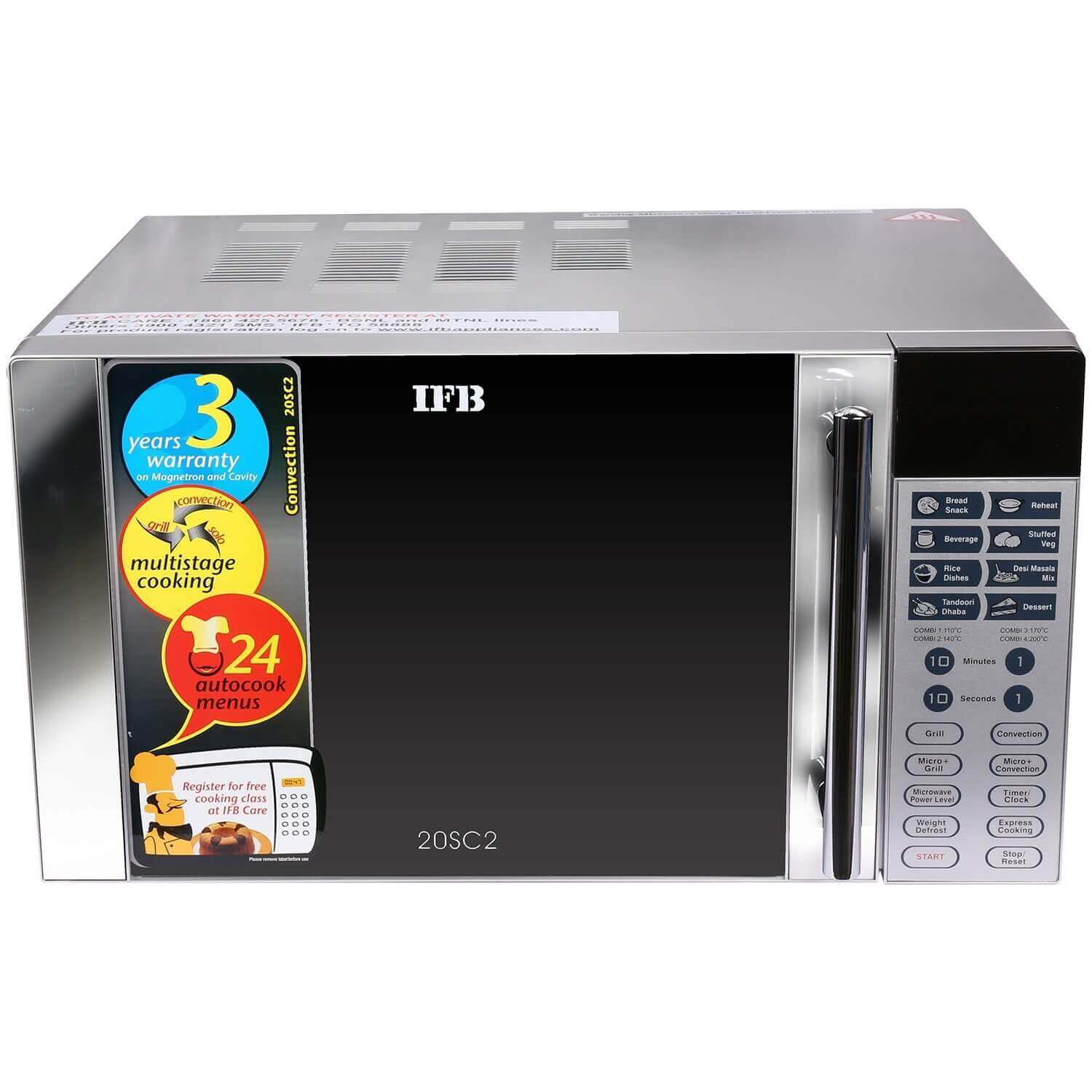 Best microwave ovens under 10,000 ifb