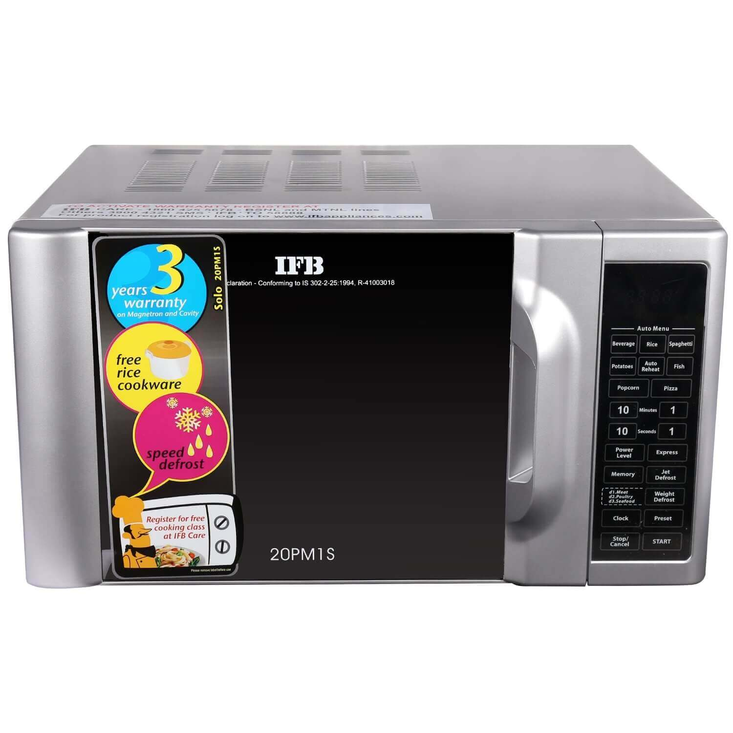 Top three best Solo Microwave Oven in India - Zelect