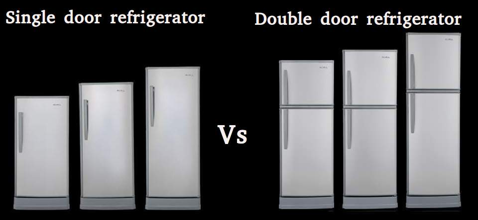 Single Door Refrigerator Vs Double Door Refrigerator