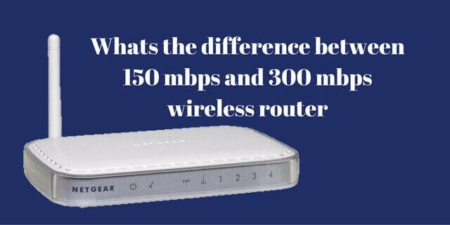 Do Faster Routers Matter 150 Mbps Vs 300 Mbps Vs 450 Mbps