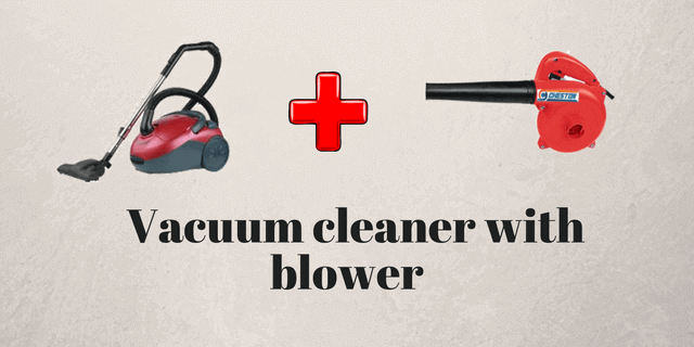 vacuum cleaner with blower