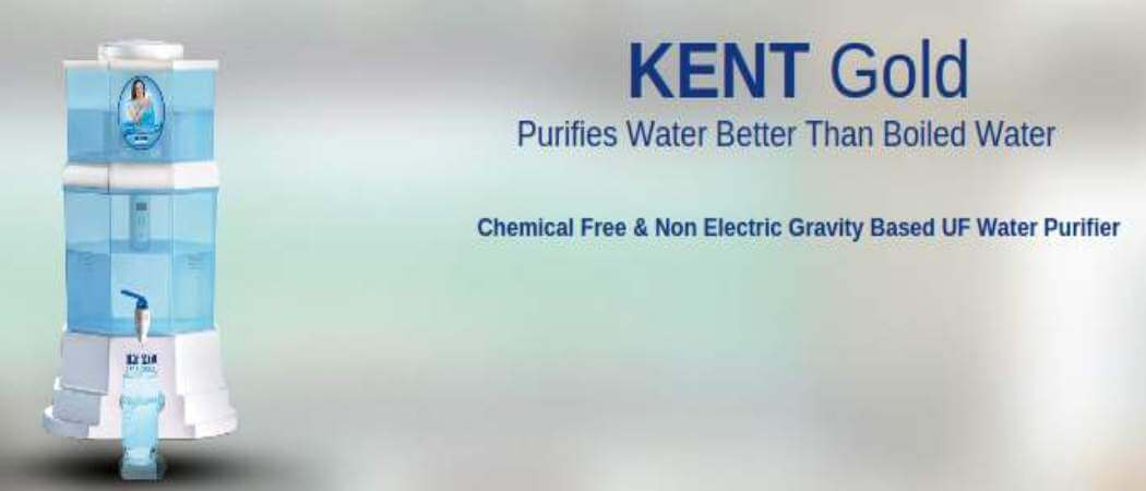 kent gold water purifier review