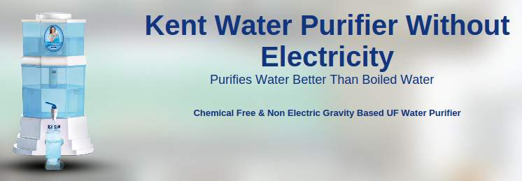 kent water purifier without electricity