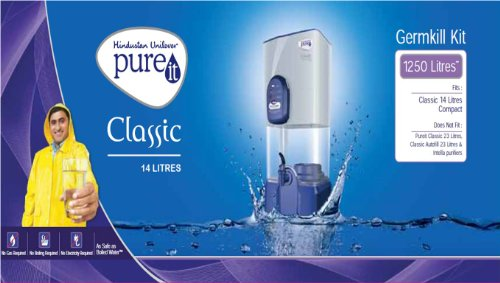 Pureit Classic 14 Litres Gravity Based Water Purifier