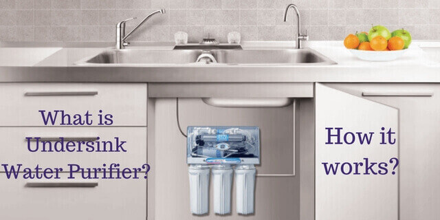 Water Filter Under Kitchen Sink.Undersink Water Purifier