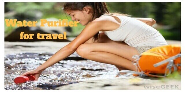 water purifier for travel